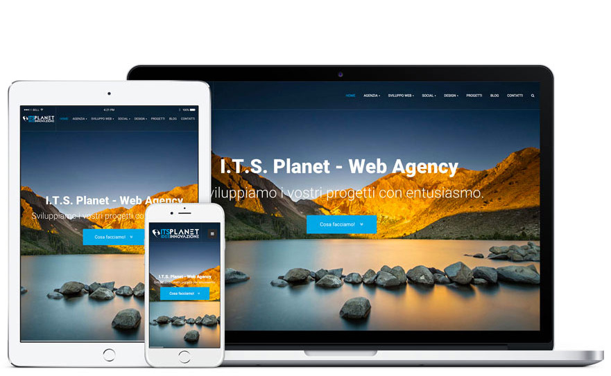 ITS Planet -siti web professionali